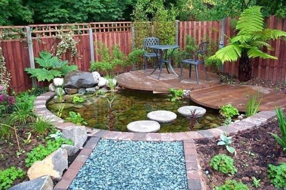 Small Garden Design Ideas With Awesome Design 46