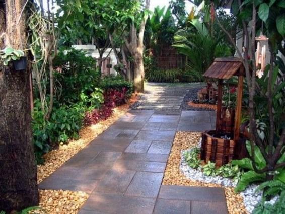Small Garden Design Ideas With Awesome Design 56
