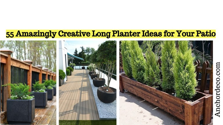 55 Amazingly Creative Long Planter Ideas for Your Patio