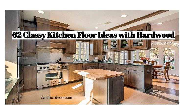 62 Classy Kitchen Floor Ideas with Hardwood