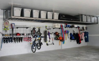 Amazing DIY and Hack Garage Storage Organization 12
