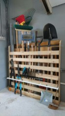 Amazing DIY and Hack Garage Storage Organization 15