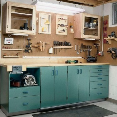 Amazing DIY and Hack Garage Storage Organization 19