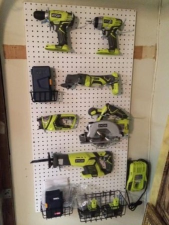 Amazing DIY and Hack Garage Storage Organization 29