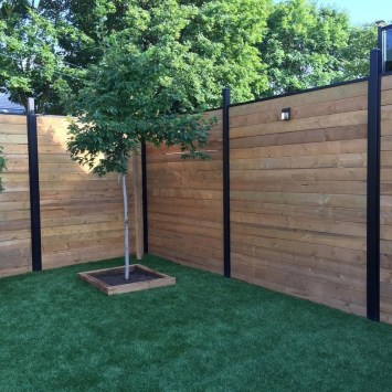 Amazing Privacy Fence Ideas to Perfect Your Backyard 09