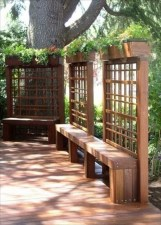 Amazing Privacy Fence Ideas to Perfect Your Backyard 35