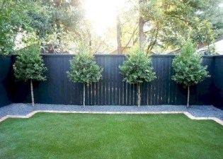 Amazing Privacy Fence Ideas to Perfect Your Backyard 37