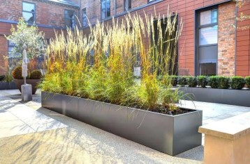 Amazingly Creative Long Planter Ideas for Your Patio 27