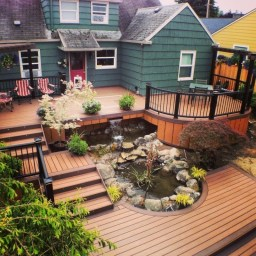 Awesome Backyard Patio Deck Design and Decor Ideas 33
