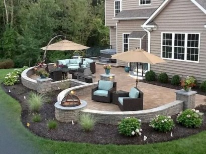 Awesome Backyard Patio Deck Design and Decor Ideas 37
