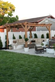 Awesome Backyard Patio Deck Design and Decor Ideas 44