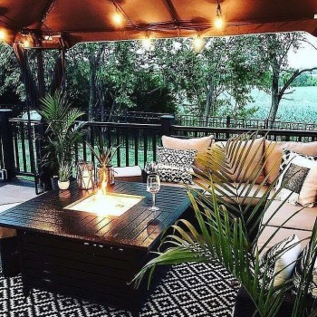 Awesome Backyard Patio Deck Design and Decor Ideas 47