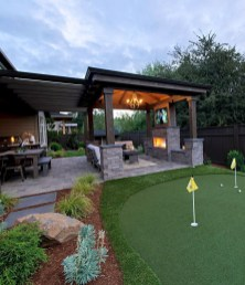 Awesome Backyard Patio Deck Design and Decor Ideas 53