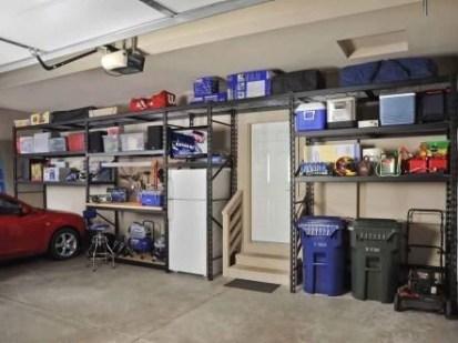 Best DIY Garage Storage with Rack 12