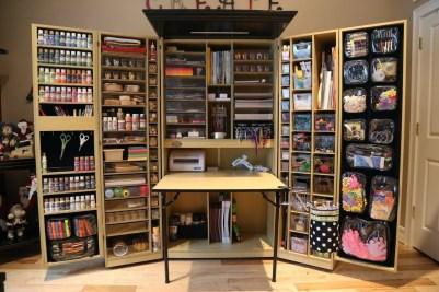 Best DIY Garage Storage with Rack 27