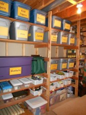 Best DIY Garage Storage with Rack 33