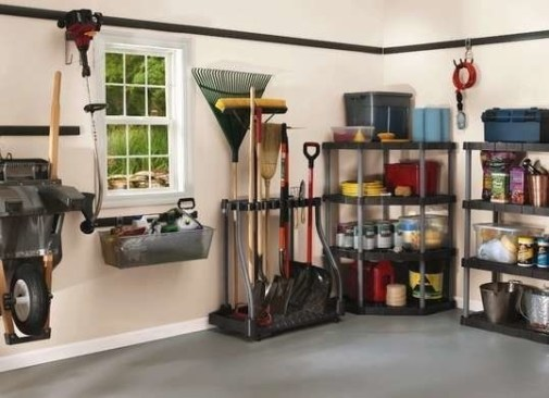 Best DIY Garage Storage with Rack 37