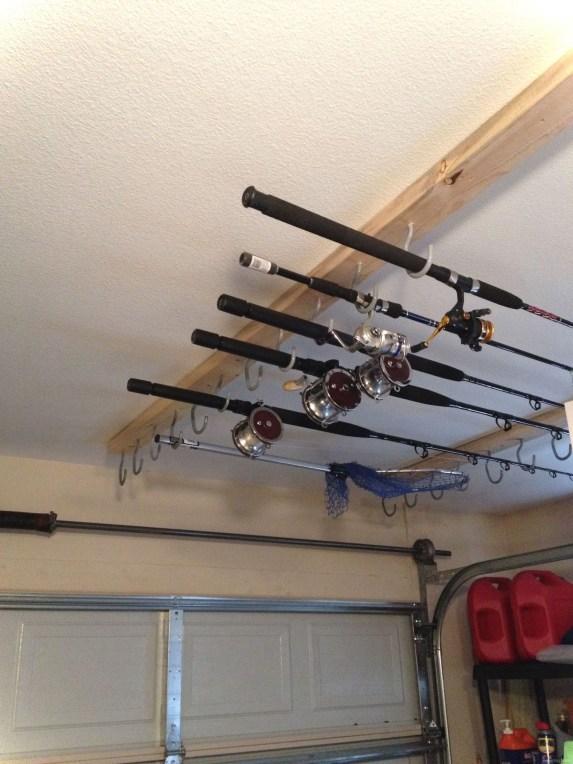 Best DIY Garage Storage with Rack 45