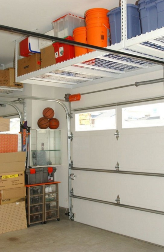 Best DIY Garage Storage with Rack 49