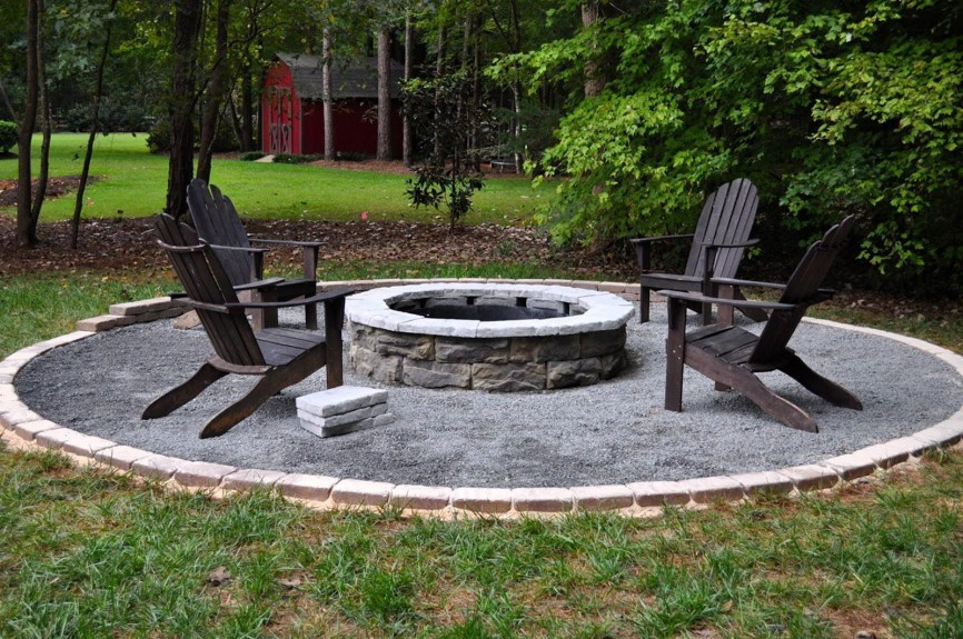 Best Outdoor Fire Pits Decorating Ideas For Spring 25
