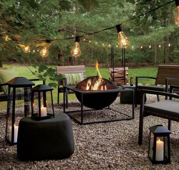 Best Outdoor Fire Pits Decorating Ideas For Spring 35