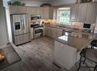 Classy Kitchen Floor Ideas with Hardwood 11