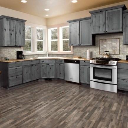 Classy Kitchen Floor Ideas with Hardwood 20