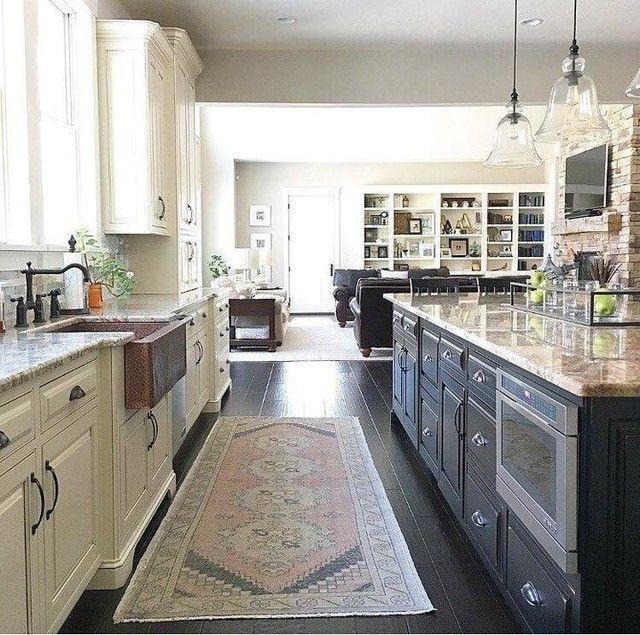 Classy Kitchen Floor Ideas with Hardwood 27