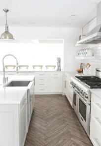 Classy Kitchen Floor Ideas with Hardwood 48