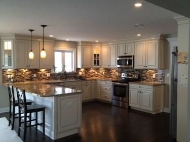 Classy Kitchen Floor Ideas with Hardwood 51