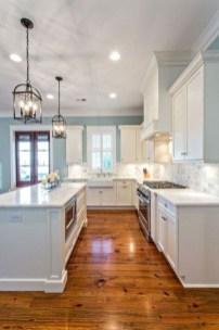 Classy Kitchen Floor Ideas with Hardwood 58