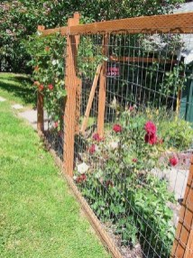 Cool DIY Garden Trellis Ideas 30