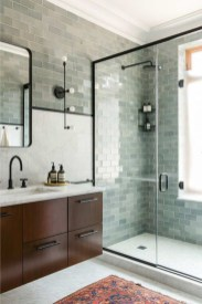 Cool Minimalist Bathroom to Add to Your Dream Home Decor 02