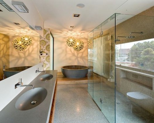 Cool Minimalist Bathroom to Add to Your Dream Home Decor 12