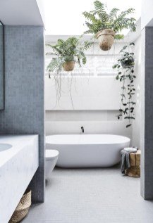 Cool Minimalist Bathroom to Add to Your Dream Home Decor 24