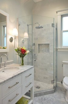Cool Minimalist Bathroom to Add to Your Dream Home Decor 32