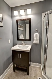 Cool Minimalist Bathroom to Add to Your Dream Home Decor 38