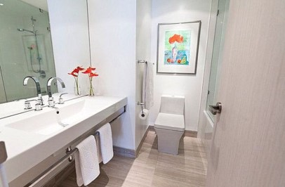Cool Minimalist Bathroom to Add to Your Dream Home Decor 45