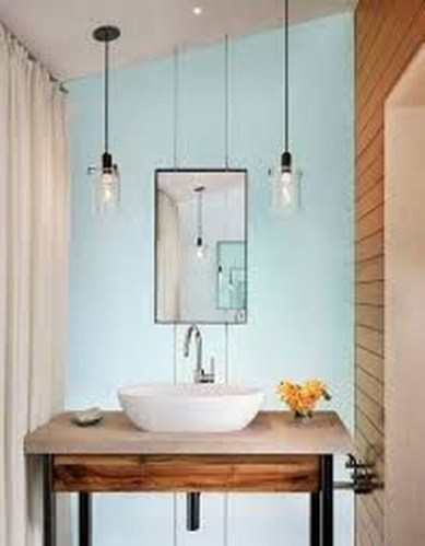 Cool Minimalist Bathroom to Add to Your Dream Home Decor 46