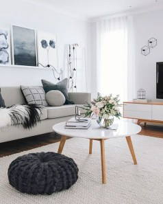Cozy Scandinavian Living Room Designs Ideas 10