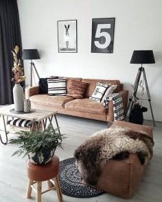 Cozy Scandinavian Living Room Designs Ideas 22