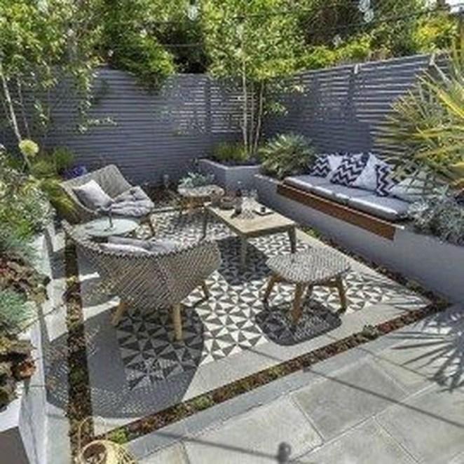 Inspiring Garden Terrace Design Ideas with Awesome Design 09
