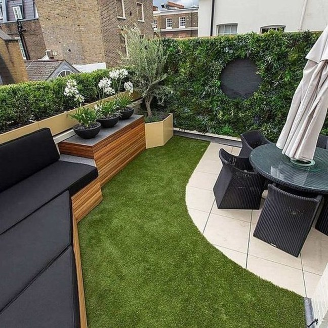 Inspiring Garden Terrace Design Ideas with Awesome Design 63