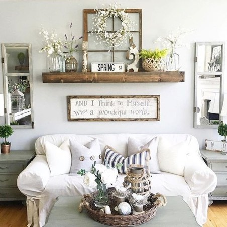 Inspiring Wall Decor Ideas for Your Living Room 24
