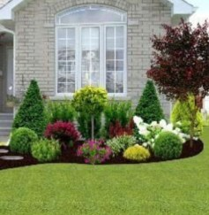 Landscaping Front Yard Ideas to Beautify Your Garden Design 55