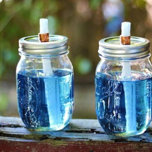 Outstanding DIY Crafts Project Ideas with Mason Jars 25