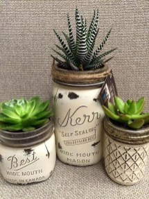 Outstanding DIY Crafts Project Ideas with Mason Jars 46