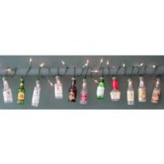 Recycled and Reuse Empty Plastic Bottles Into a String of Lights Ideas 18