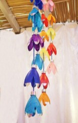 Recycled and Reuse Empty Plastic Bottles Into a String of Lights Ideas 25