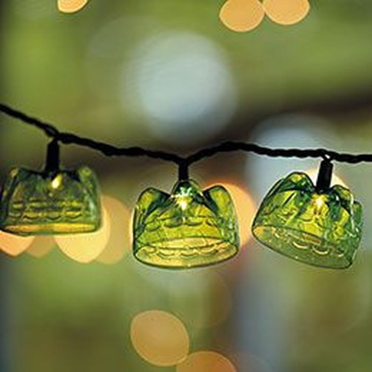 Recycled and Reuse Empty Plastic Bottles Into a String of Lights Ideas 33